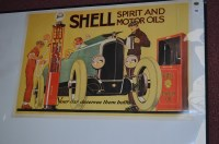 Lot 91 - A 'Shell' advertising poster, 1969 reprint of...