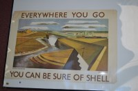 Lot 93 - 'Shell' advertising poster, 1969 reprint of no....