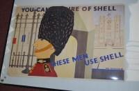 Lot 95 - 'Shell' advertising poster, 1969 reprint of no....