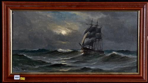 Lot 1722-John Davison Liddell - ''Homeward Bound'' - a...