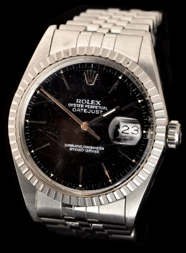 Lot 327 - Rolex Oyster Perpetual Datejust: a gentleman's...