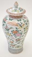 Lot 569 - Chinese Famille Rose inverted baluster vase...