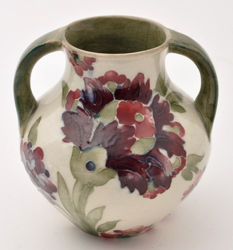 Lot 683-Moorcroft 'Persian' two-handled vase, with...
