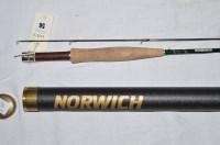 Lot 56-Norwich: a graphite 9ft. two-piece #4/5 no.3972...