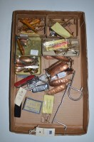 Lot 198-A large collection various: fishing lures mainly...