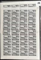 Lot 167-GB 1955 castles, comprising 2s.6d. full sheet,...