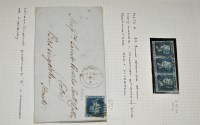 Lot 304-GB 1840-58: an extensive collection of 2d. blues, ...