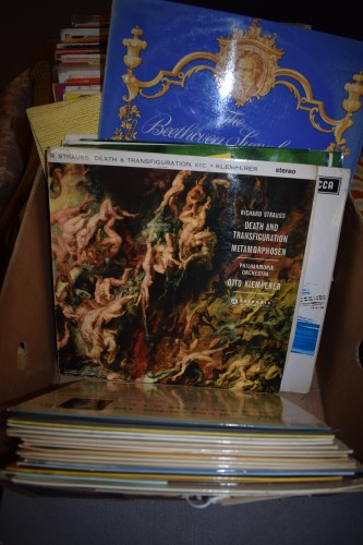 Lot 274-LP records, to include: Strauss; Sibelius;...