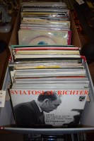 Lot 277-LP and 45rpm records, to include: Mozart;...