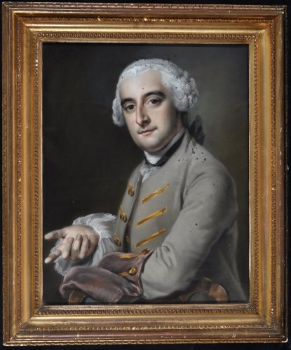 Lot 282-Francis Cotes, RA (1726-1770) ''Mr. Gouch...
