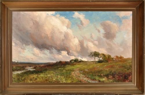 Lot 369-John Falconar Slater (1857-1937) A summer's day...