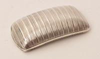 Lot 464 - A George III silver snuff box, by Joseph...