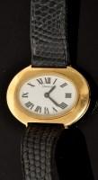 Lot 499 - Tiffany & Co: a lady's 18k wristwatch, the...