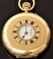 Lot 506 - An early 20th Century 18ct. gold gentleman's...
