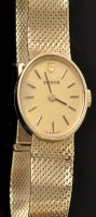 Lot 509 - A 9ct. yellow gold cased Tudor cocktail watch,...