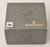 Lot 514 - An Audemars Piguet presentation box with outer...