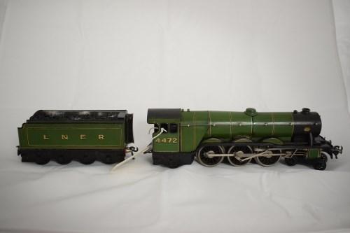 Lot 1501-Bassett Lowke 0-gauge 4-6-2 electric locomotive,...