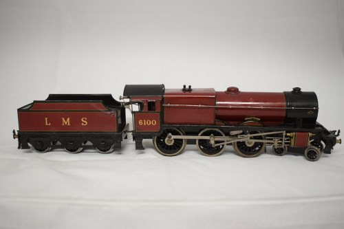 Lot 1520-Bassett Lowke 0-gauge 4-6-0 clockwork...