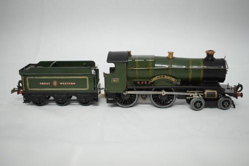 Lot 1537-Hornby 0-gauge 4-4-0 20V electric locomotive,...