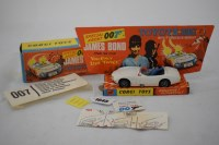 Lot 1645-Corgi Toys Special Agent 007 James Bond Toyota...