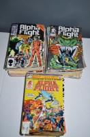 Lot 1013 - Alpha Flight: 1-14 and sundry subsequent...
