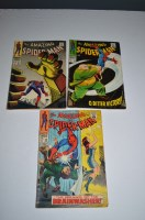 Lot 1029 - The Amazing Spider-Man: 59, 60 and 67.