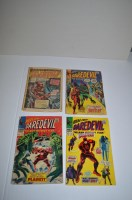 Lot 1045 - Daredevil: 27, 28 and 34; together with a...