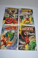 Lot 1047 - Daredevil: 55, 58, 61 and 63.