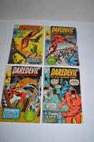 Lot 1048 - Daredevil: 69, 72, 75 and 76.