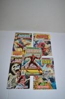Lot 1052 - Daredevil: 130, 132, 133 and 134.