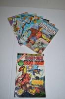 Lot 1059 - Daredevil King-Size Annual no. 4; Iron Man...