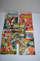 Lot 1060 - The Invincible Iron Man: 13, 16, 29, 32 and 33.