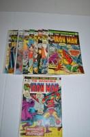 Lot 1062 - The Invincible Iron Man: 61, 62, 63, 64, 65,...