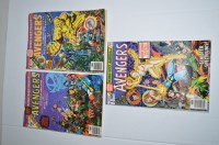 Lot 1067 - The Avengers King-Size Annual: 6, 7 and 8.