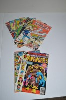Lot 1068 - The Avengers King-Size Annual: 9, 10, 11, 12,...