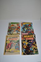 Lot 1069 - The Avengers: 29, 69, 70; together with a...