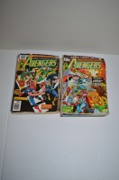 Lot 1072 - The Avengers, sundry issues between 103 and...