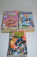 Lot 1074 - Marvel Comics, various titles, mostly late...
