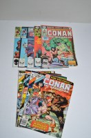 Lot 1081 - Conan The Barbarian King-Size Annual: 2-9...