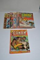 Lot 1082 - Conan The Barbarian: 11, 16, 18, 19, 20, 21,...