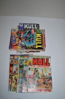 Lot 1086 - Kull The Conquerer, first series: 5, 7, 8, 10...