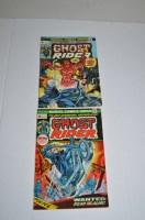 Lot 1087 - Ghost Rider: no.1 (September 1973) and no.2...