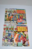 Lot 1089 - Ghost Rider: 21-30 inclusive.
