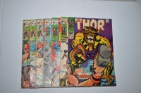 Lot 1093 - The Mighty Thor: 155, 168, 170, 171, 172, 173...