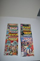 Lot 1100 - The Might Thor King-Size Annual: 5, 6, 7, 8, 9,...