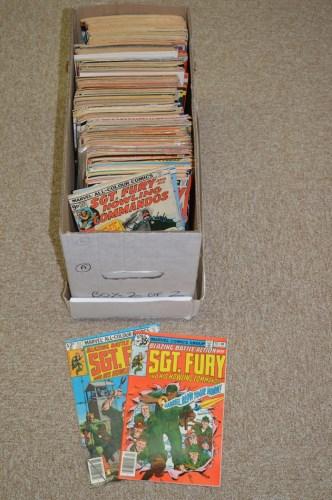 Lot 1136-Marvel Comics, sundry titles, including: Sgt....