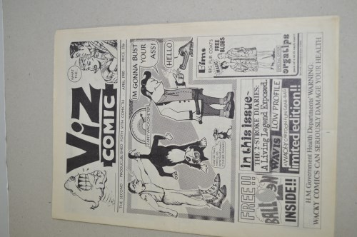 Lot 1593-Viz Comic no. 2, April 1980