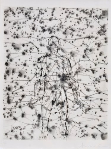 Lot 1365-Antony Gormley - ''Figure'', signed and dated '00 ...