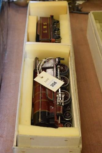 Lot 354-Bing for Bassett Lowke 0-gauge 4-6-0 clockwork...