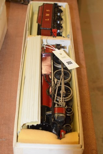 Lot 355-Bassett Lowke 0-gauge 4-6-0 clockwork...